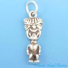 HAWAII GOD KANALOA TIKI Hawaiian .925 Solid Sterling Silver Charm
