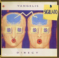 "VANGELIS "" DIRECT "" LP NUOVO ARISTA GERMANY 1988  BARCODE  4007192091492"