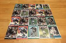 THOMAS BENSON TOM LOT OF 20 FOOTBALL CARDS LOS ANGELES RAIDERS LINEBACKER