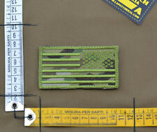 """Ricamata / Embroidered Patch Reverse """"USA Flag"""" Multicam with VELCRO® brand hook"""