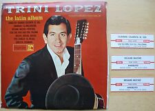 "TRINI LOPEZ – THE LATIN ALBUM – PACK OF 4 7"" JUKEBOX EPs – US REPRISE (1964) NM"