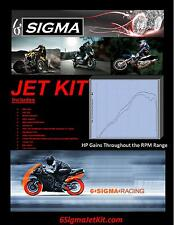 Honda CBR150R CBR150 CBR 150 R 6 Sigma Custom Carburetor Carb Stage 1-3 Jet Kit