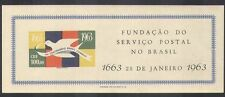 Brazil 1962 Carrier Pigeon/Post/Mail/Anniversary/Birds/Animation impf m/s n38084