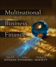 Multinational Business Finance by Eiteman, Stonehill, Moffett, 10th Ed hardcover