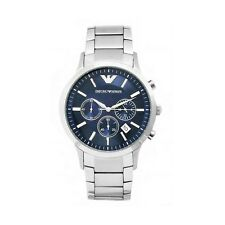 Emporio Armani AR2448 Men's Chronograph Blue Dial Watch