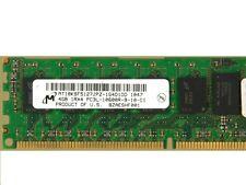 Micron 4GB MT18KSF51272PZ-1G4D1DD DDR3 10600 1333MHz ECC 240Pin DIMM