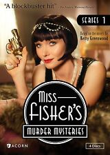 Miss Fisher's Murder Mysteries Series 1, Season 1, NEW, (DVD, 2013, 4-Disc Set)