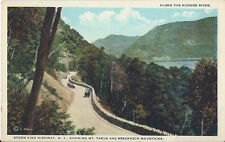 Postcard New York Storm King Hwy Mt Tarus & Breakneck Mtns Hudson River MINT 20s