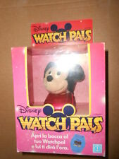 Retro Hasbro Softies Watch Pals Disney Topolino Mickey Watchimal Vintage New