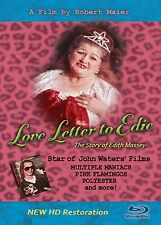 NEW!  Restored,  LOVE LETTER TO EDIE - BLU-RAY