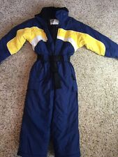 Fera Carver child kids size 6 winter snow suit insulated one piece Blue Kd1