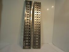 """FREIGHTLINER A22-57757-090 35 3/4"""" X 5 3/4"""" ALUMINUM STEP TREADS ( LOT OF 2)"""