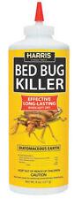 HARRIS BED BUG KILLER POWDER 8 OZ (Roaches Fleas Earwigs Silverfish Ants)  HDE-8
