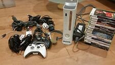 Xbox 360 BUNDLE 16 games, 2 controllers, 2 microphones, Headset Great Condition
