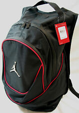 Nike Jordan Jumpman Black Red Backpack Bookbag Bag Laptop Bag NEW