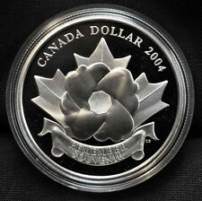 2004 Special Edition Proof Silver Dollar - Poppy