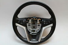 2012-2015 Camaro SS Ebony Black Leather Steering Wheel OEM GM 22790902