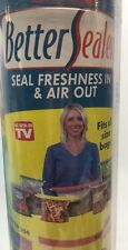 Better Sealer by Home Smart, Seal Bags freshness in & air out AS SEEN ON TV