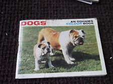 RARE VINTAGE MINIATURE BOOKLET ODHAMS COLOUR DOGS 1967 SUNFRESH GREAT PHOTOS