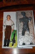 "Han Solo Carbonite 12""-Hasbro-Star Wars 1/6 Scale Customize Side Show Jabba"