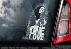 Bob Marley -Car Window Sticker -Jamaica Reggae Rock Music Ska Sign & the Wailers