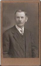 CDV photo Herrenportrait - Österreich 1910er