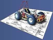 Gemini Go-Kart Plans to build your own Navigator kart on CD made in UK