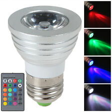 9W E27 Color LED RGB Magic Light Bulb 16 Colors Changing W/ Wireless Remote