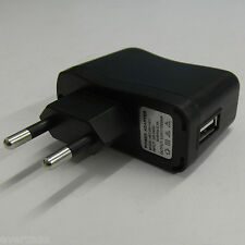Universal Wall / Main to USB adaptor.AC 110-240V to 5V 1A. Euro type.Ref 061 IC