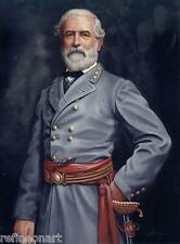 Handmade Oil Painting repro Robert E. Lee Civil War