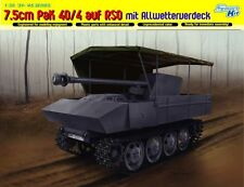 Dragon 1:35 6679: 7.5cm Pak 40/4 su RSO con allwetterverdeck