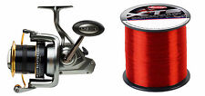 New Penn Surfblaster 8000 Sea Spin Fishing Fixed Spool Reel + 18lb Berkley Line