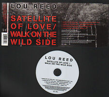 CD MAXI SINGLE PROMO LOU REED SATELLITE OF LOVE / WALK ON THE WILD SIDE 2004