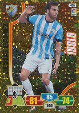N°405 JESUS GAMEZ # IDOLO ESPANA MALAGA.CF CARD PANINI ADRENALYN LIGA 2014