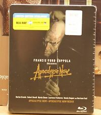 NEW APOCALYPSE NOW+REDUX STEELBOOK BLU-RAY+HD ULTRAVIOLET! SOLD OUT BEST BUY