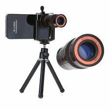 8x Zoom Universal Telescope Lens iPhone HTC Samsung Xperia Mobile with Tripod