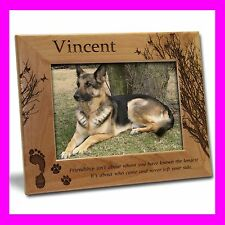 5x7PERSONALIZED CUSTOM ENGRAVED PET PICTURE FRAME GIFT B