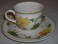 Villeroy & and Boch GERANIUM - tea cup and saucer EXCELLENT