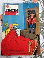 journal tintin 514 France (1958) couv tibet sos météores
