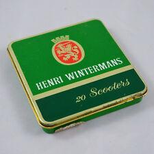 Alte Blechdose – Blechdose Henri Wintermans – 20 Scooters – Zigarrendose – Dose