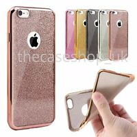 New Bling Silicone Glitter ShockProof Case Cover For Apple iPhone 6 6S Plus