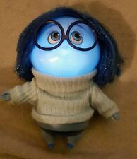 Disney Store Sadness Deluxe Pixar Talking Doll Inside Out 19cm