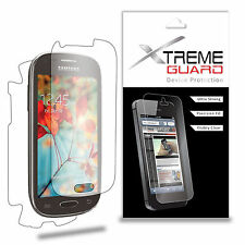 XtremeGuard Clear FULL BODY Screen Protector For Samsung Galaxy Light SGH-T399