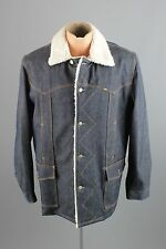 Vtg Men's 70s Lee Storm Rider Deadstock NOS Coat Jacket sz L Long 1970s #2230