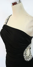 NWT MASQUERADE $110 Black Evening Prom Formal Gown 9