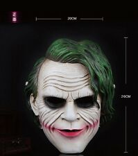 Joker Batman Dark Knight Movie Mask Resin Halloween High Quality NEW C2