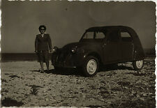 PHOTO ANCIENNE - VINTAGE SNAPSHOT - VOITURE AUTOMOBILE 2 CV CITROËN - CAR 1