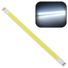 1x High Power 10W 1000LM COB LED Strip Light Lamps Pure White 20*1CM 12 - 24V