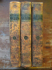 "Antiquarian "" Wealth of Nations""by Adam Smith,3 x leather-bound vols.1791,6th ed"
