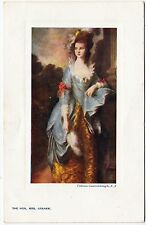 * RAPHAEL TUCK - Old English Masters Oilette #9727 - The Hon Mrs Graham - c1900s